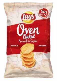 LAY'S CHIPS COPT PAPRIKA 125G