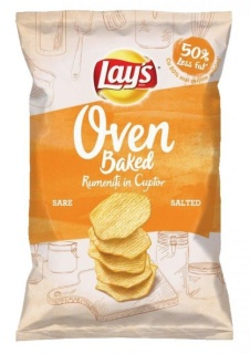 LAY'S CHIPS COPT SALTED 125G