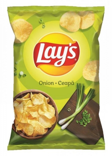 LAY'S CHIPS CEAPA VERDE 140G