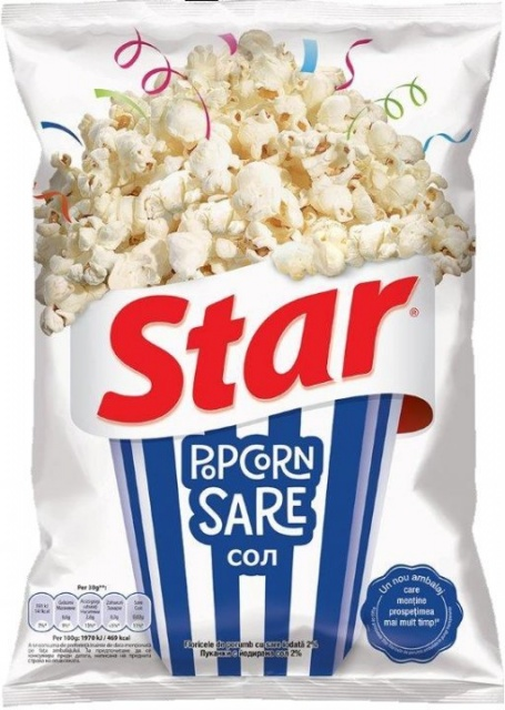 STAR POPCORN SARE 87G