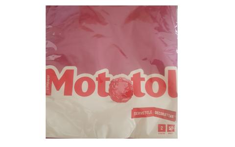 MOTOTOL DECOR.D.COLOUR SERVETELE 40*40 2S.50B