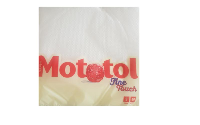 MOTOTOL FINE TOUCH SERVETELE 33*33 2S.40B