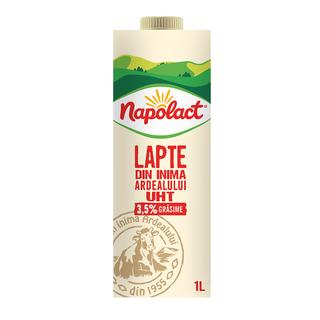 NAPOLACT LAPTE UHT 3.5%GR 1L