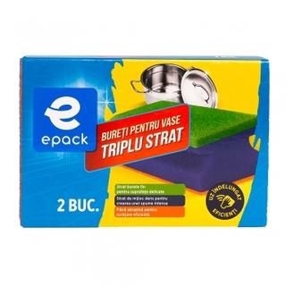 EPACK BURETI VASE TRIPLU STRAT 2BUC