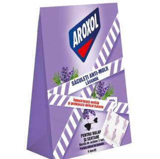 AROXOL SACULET ANTIMOLII 4BUC