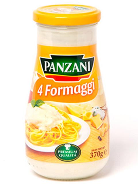 PANZANI SOS 4 FROMAGES 370G